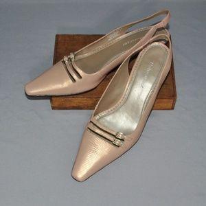 Naturalizer Shoes Size 7.5 Sling Back Kitten Heels